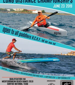 4th HELLENIC SURFSKI & 2nd SUP LONG DISTANCE CHAMP