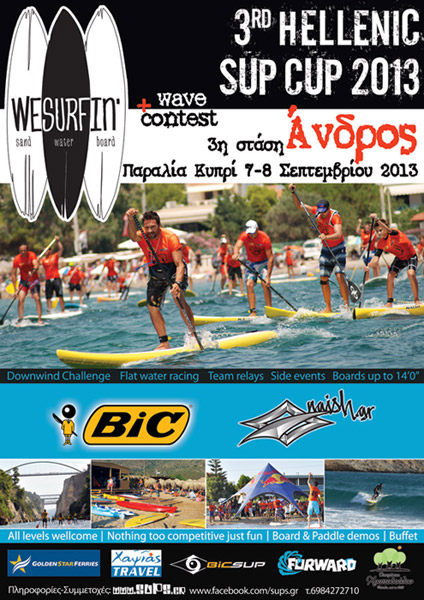 3rd HELLENIC SUP CUP - ANDROS