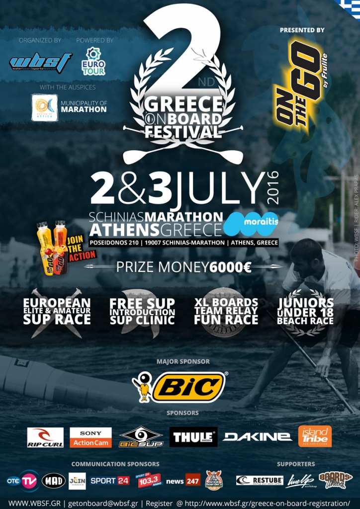 2nd GREECE ON BOARD FESTIVAL
