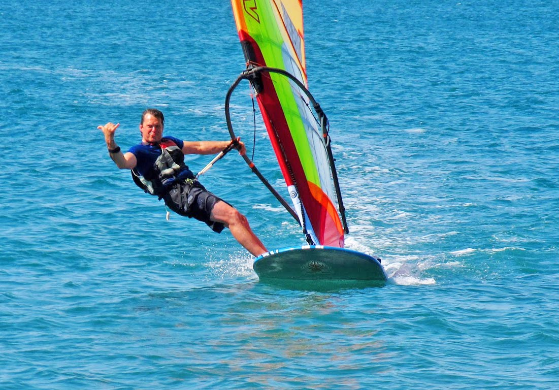 2017 Formula Windsurfing Event At Dilesi Plaka Spot Greece